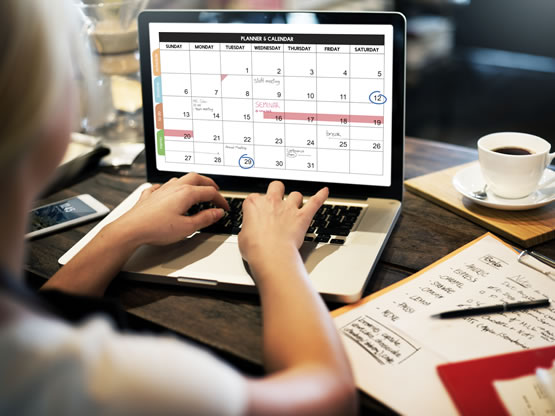 New Look Networking Calendar